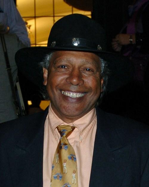 Ernie Dingo at the premiere of