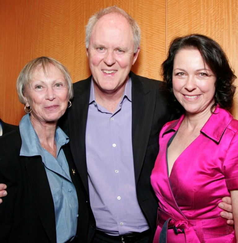Kathryn Doby, John Lithgow and Deborah Geffner at the screening of