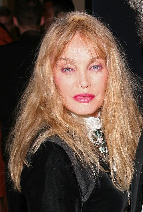 Arielle Dombasle at the Paris premiere of