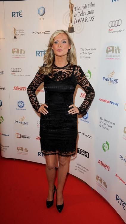 Alison Doody at the 7th Annual Irish Film and Television Awards.