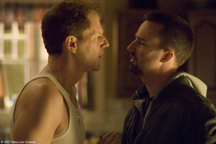 Noah Emmerich and Edward Norton in