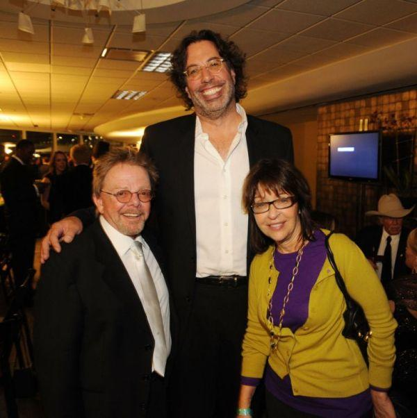 Paul Williams, Craig Fruin and Diane Baron at the 47th Annual ASCAP Country Music Awards.