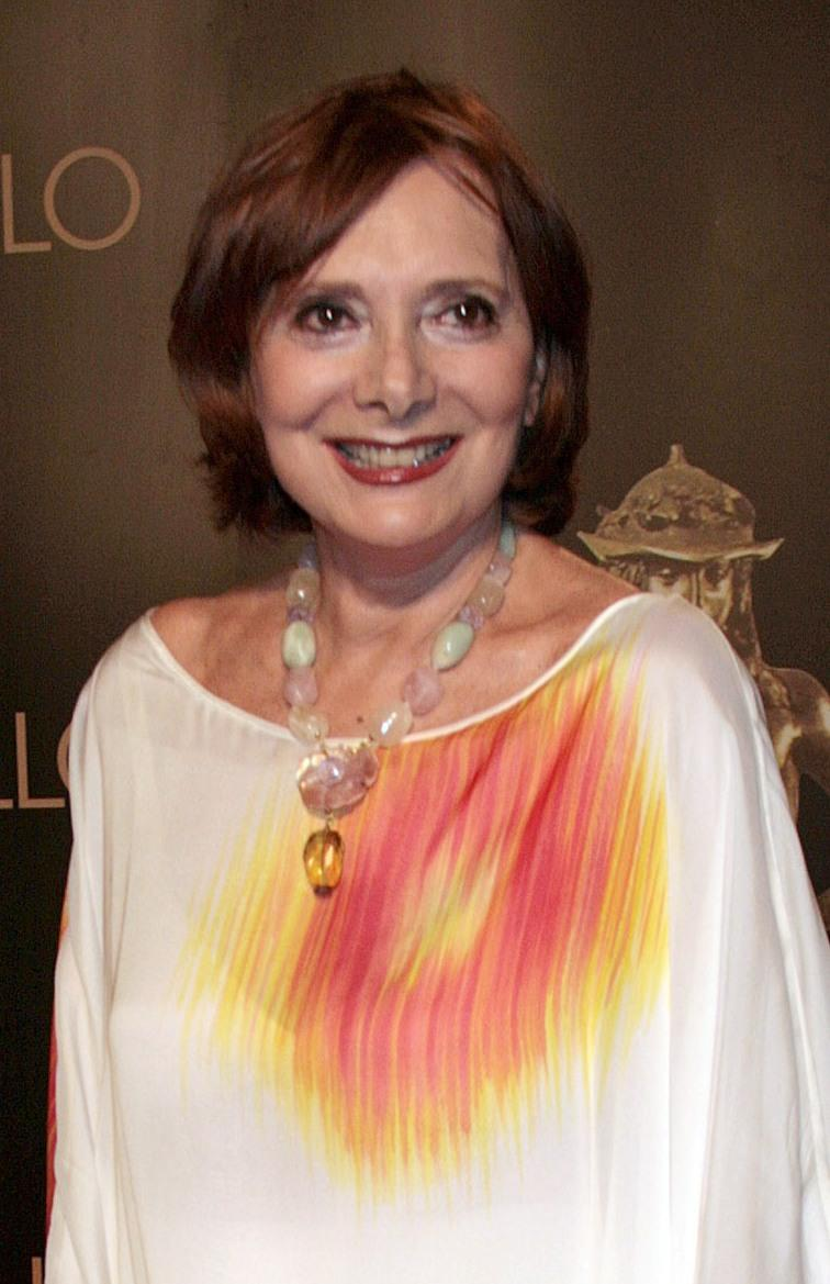 Rossella Falk at the David di Donatello 2007 Italian Awards .