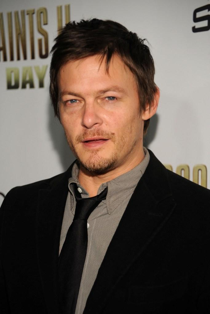 Norman Reedus at the California premiere of