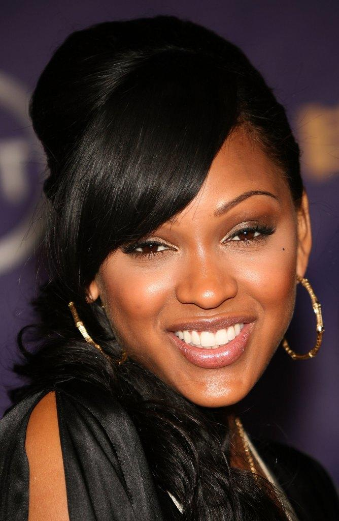 Meagan good sexy lips were