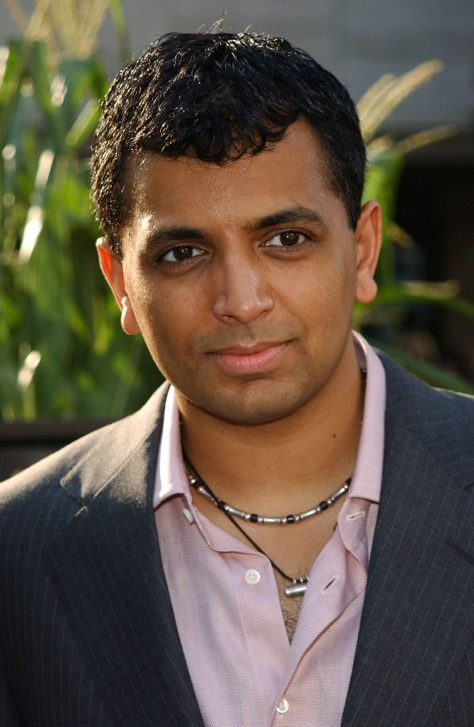 M. Night Shyamalan at the world premiere of