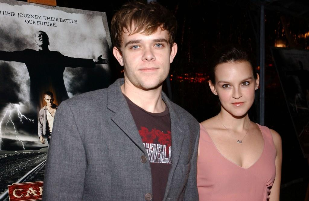 Carla Gallo and former boyfriend Nick Stahl