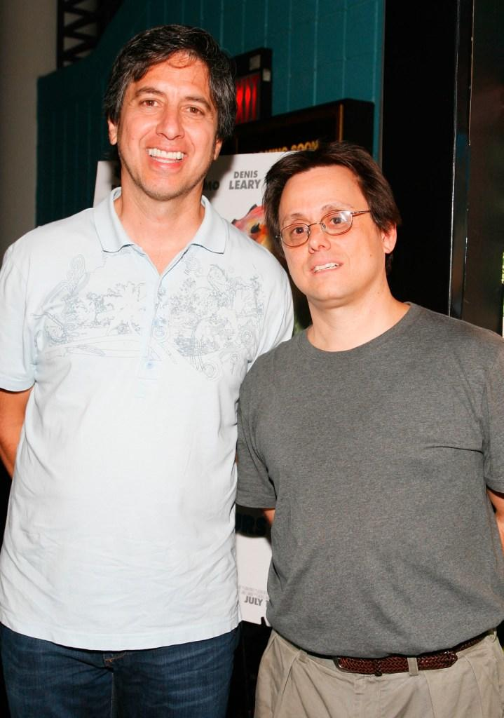 Ray Romano and Bobby Romano at the special New York screening of