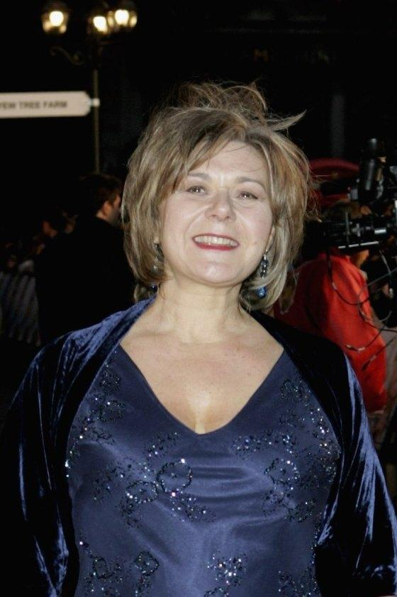 Barbara Flynn at the world premiere of