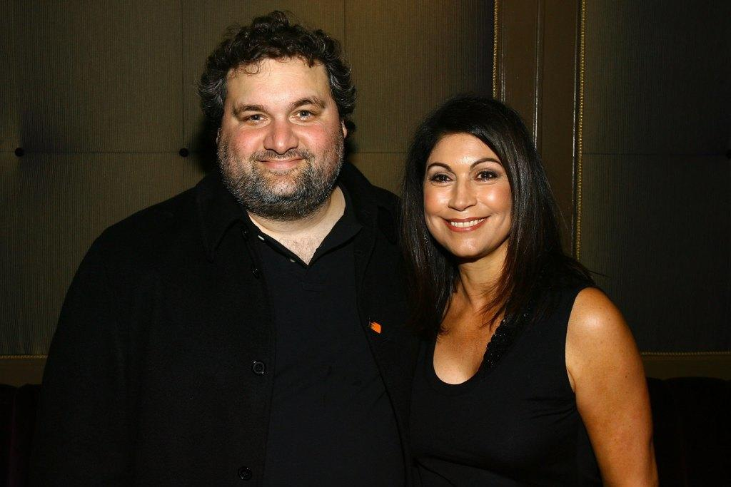 Artie Lange and Caroline Hirsch at the Mario Batali Roast which kicks off the 3rd Annual New York Comedy Festival.
