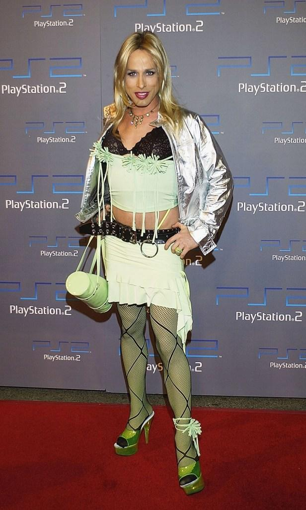 Alexis Arquette at the Playstation 2 celebration for this year's Electronic Entertainment Expo.