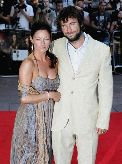 Michelle Gomez and Jack Davenport at the European premiere of