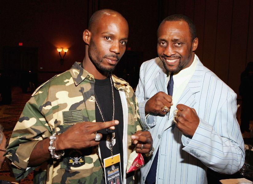 DMX and Tommy Hearns at the International Pool Tour World 8-Ball Championship.