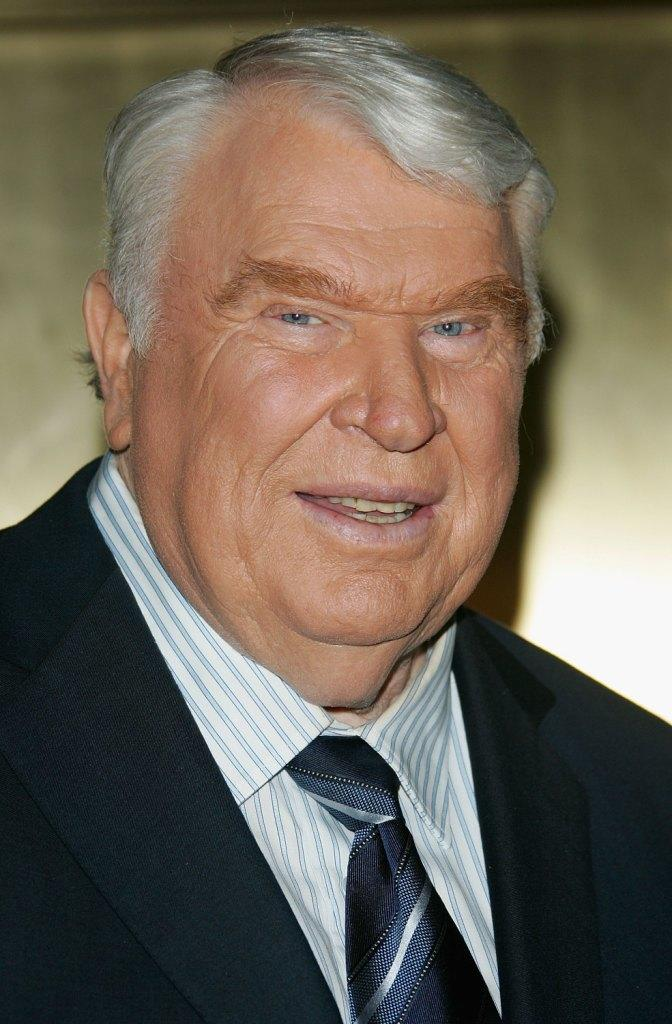 John Madden at the NBC Primetime Preview 2006-2007.