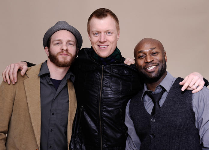 Will Bouvier, Jay Paulson and Anslem Richardson at the Portrait Session of