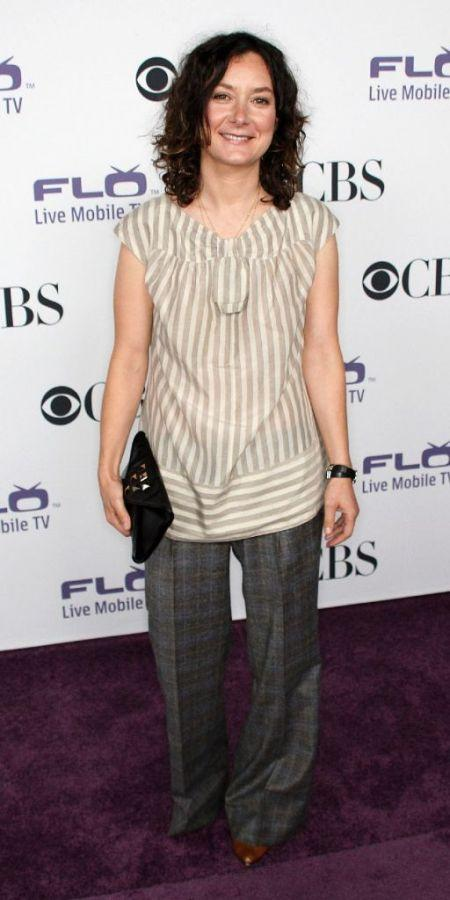 Sara Gilbert at the CBS Comedies' Season Premiere Party.