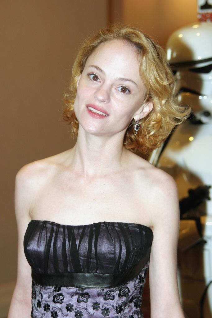 Angela Bettis at the 29th Annual Saturn Awards.
