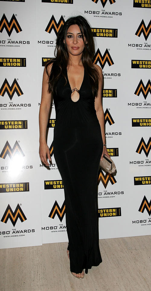 Laila Rouass at the MOBO Awards 2006 in London.