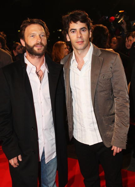Thomas Kretschmann and Eduardo Noriega at the screening of