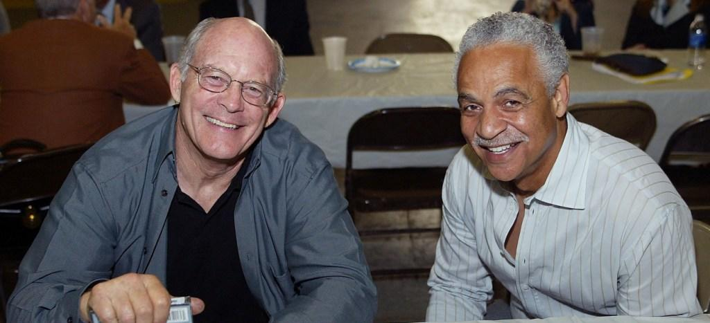 Max Gail and Ron Glass at the