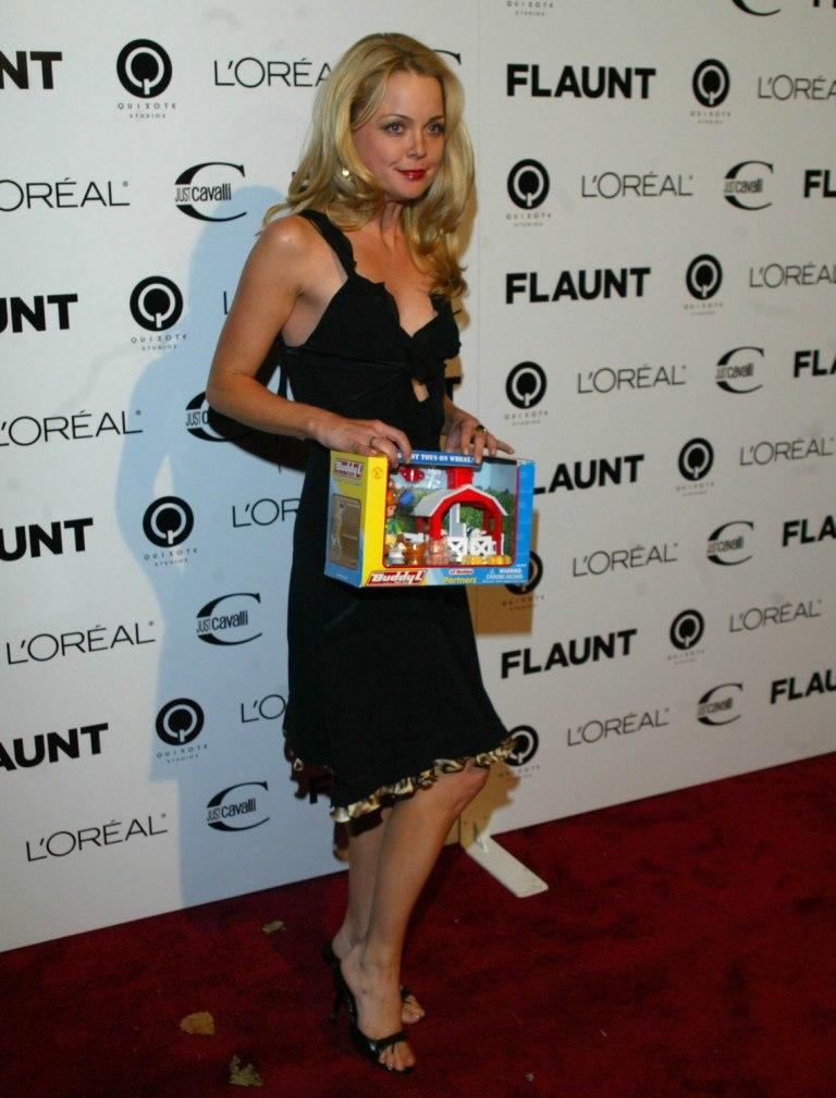Marissa Coughlan at the Flaunt Magazine's 6-year Anniversary party.