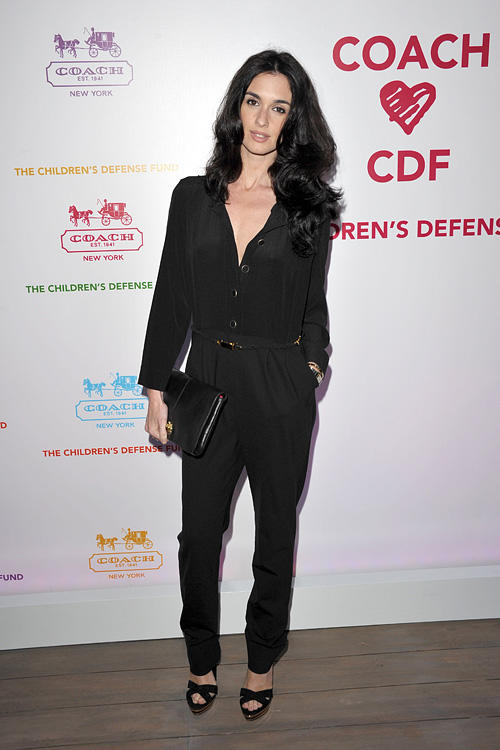 Paz Vega at the Evening of Cocktails and Shopping to Benefit the Children's Defense Fund in California.