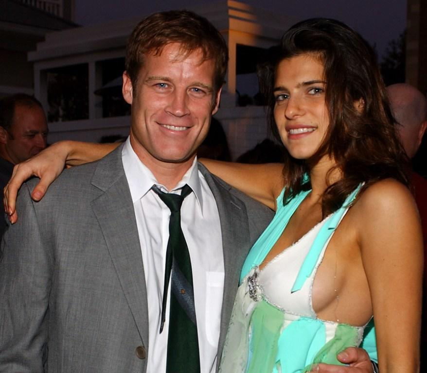 Mark Valley and Lake Bell at the Twentieth Century Fox Television's New Season Party.