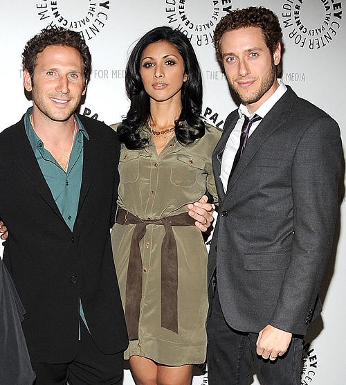 Mark Feuerstein, Reshma Shetty and Paulo Costanzo at the Paley Center for