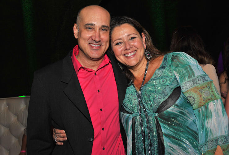 Kenny Alfonso and Camryn Manheim at the California premiere of