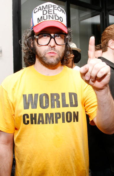 Judah Friedlander at the premiere party of