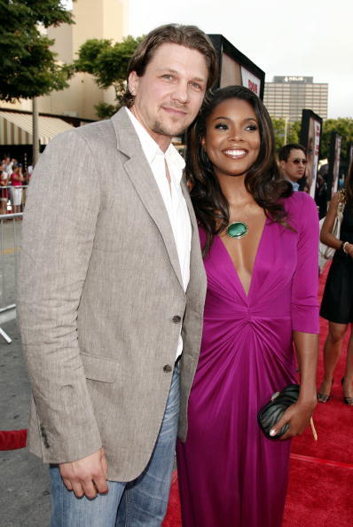 Marc Blucas and Gabrielle Union at the premiere of