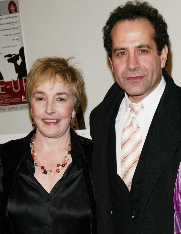 Lynne Adams and director Tony Shalhoub at the premiere of