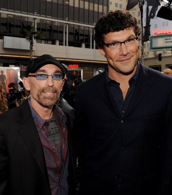 Jackie Earle Haley and Richard Brenner at the California premiere of