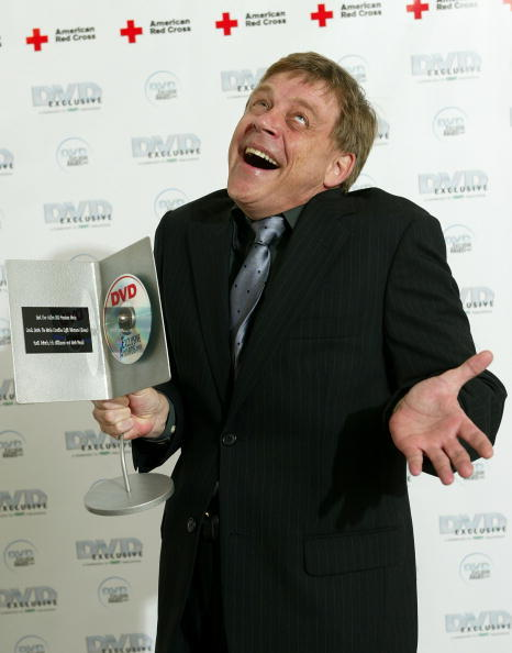 Mark Hamill 2005 DVD Exclusive Awards - Press Room.