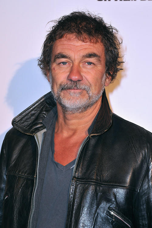 Olivier Marchal at the Paris premiere of