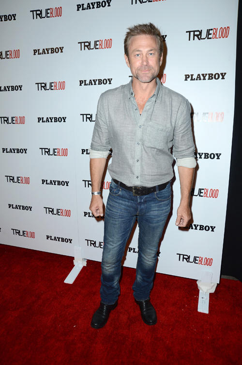 Grant Bowler at the Playboy and True Blood 2012 Event in California.
