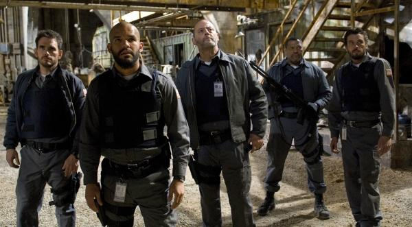 Matt Dillon, Amaury Nolasco, Jean Reno, Laurence Fishburne and Skeet Ulrich in