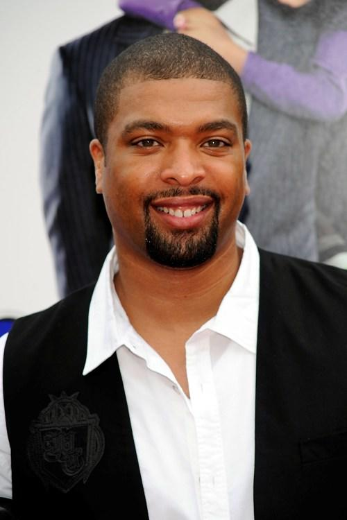 DeRay Davis at the premiere of