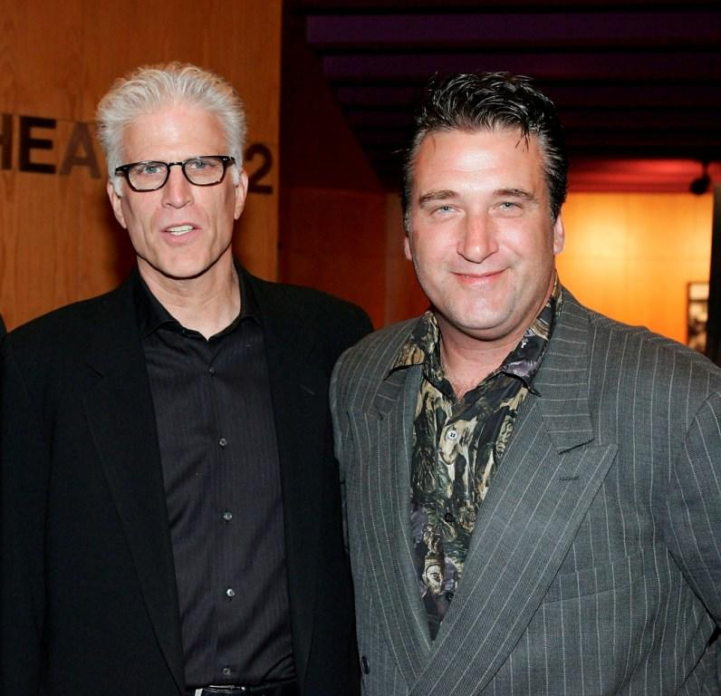 Ted Danson and Daniel Baldwin at the premiere of