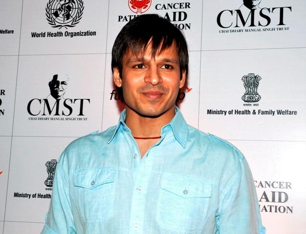Vivek Oberoi at the press conference for World No Tobacco Day.