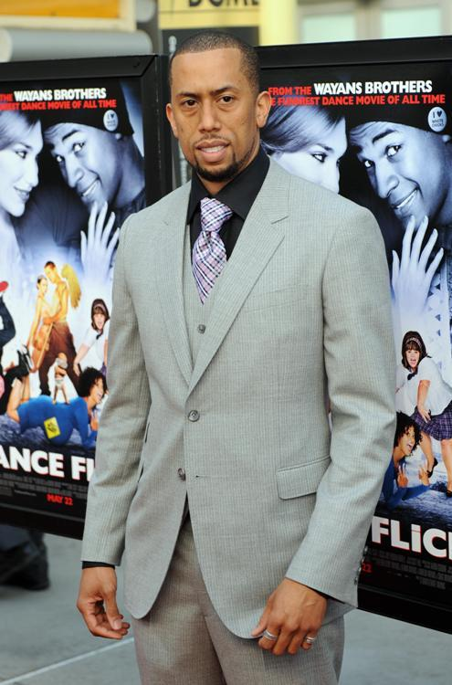 Affion Crockett at the premiere of