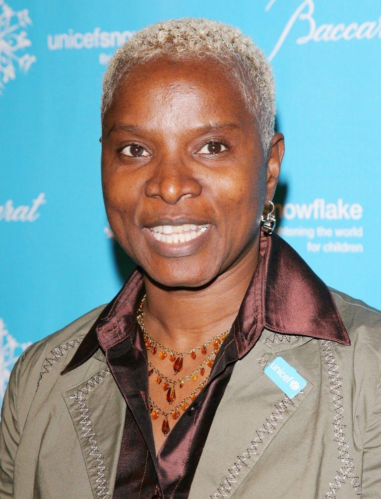 Angelique Kidjo at the Third Annual UNICEF Snowflake Ball.