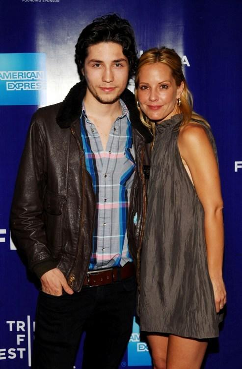 John Patrick Amedori and Emma Caulfield at the premiere of