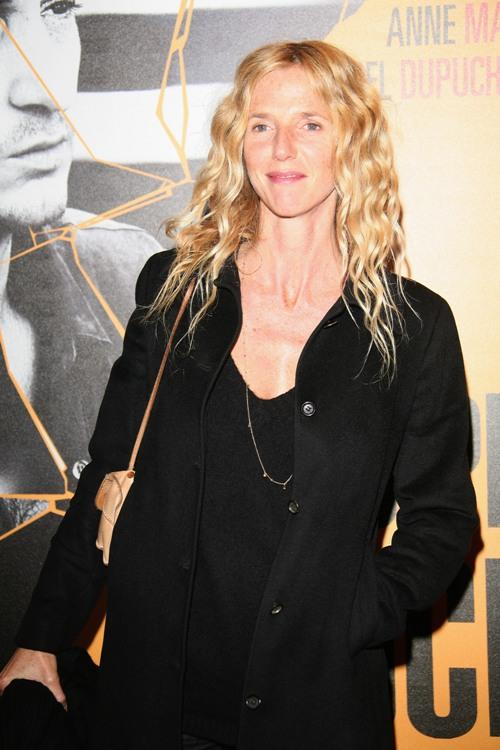 Sandrine Kiberlain at the Paris premiere of