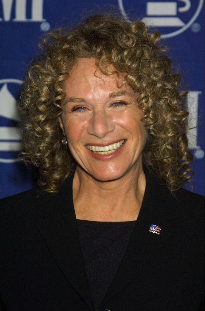 Carole King at the 2001 Heroes Awards.