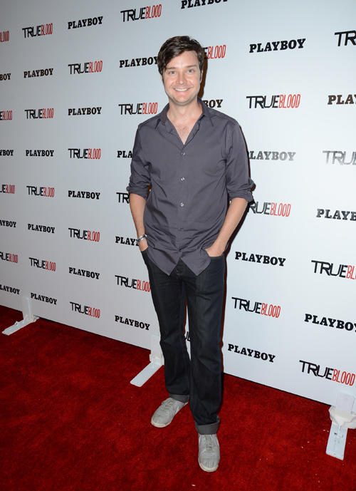 Michael McMillian at the Playboy and True Blood 2012 Event.