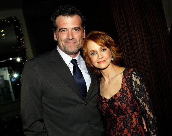 Swoosie Kurtz and Bruce Thomas at the 9th annual Family Television Awards.