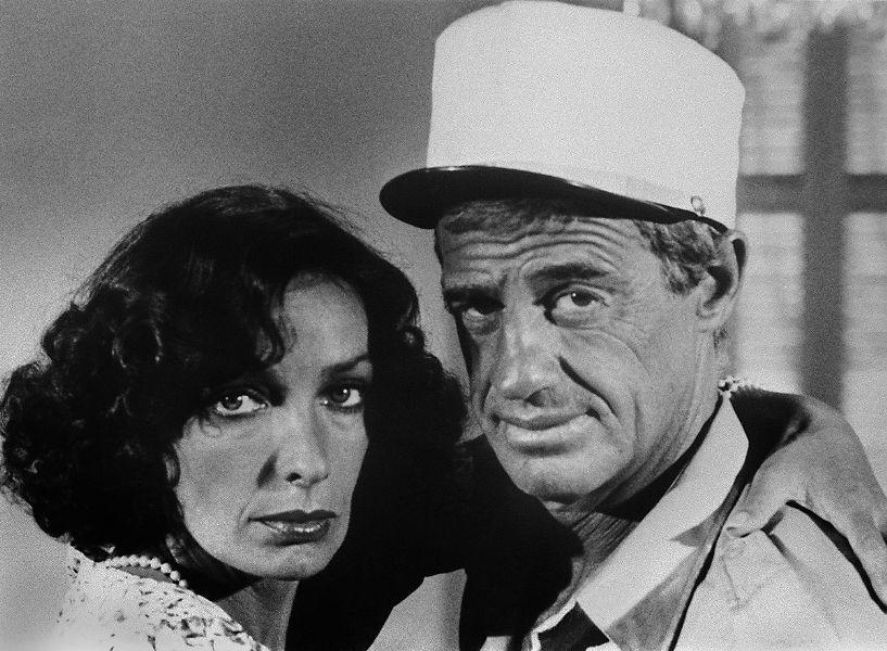 An Undated File Photo of Marie Laforet and Jean-Paul Belmondo.