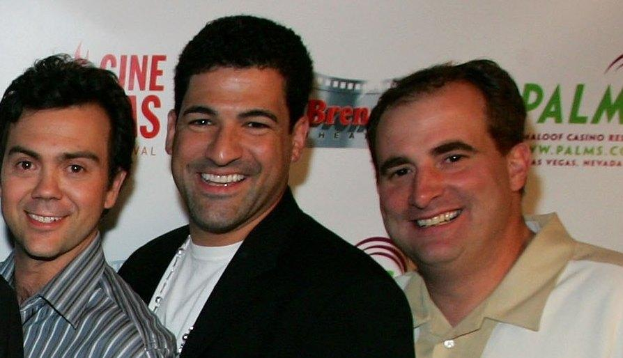 Joe Lo Truglio, Michael Deeg and Jimmy Palumbo at the premiere of