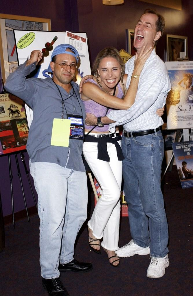 Priscilla Barnes, Kyle T. Heffner and Doug Cox at the LA Premiere of